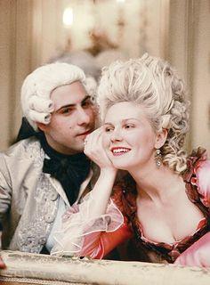 Marie Antoinette, Kirsten Dunst and Jason Schwartzman. I love this movie.