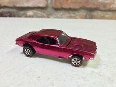 Near Mint 1968 Hot Wheels Redline Custom Camaro Creamy Pink | eBay