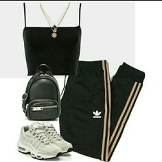 A fashion look from October 2017 featuring adidas Originals, NIKE sneakers and Alexander Wang shoulder bags. Browse and shop related looks. A fashion look from October 2017 by theeuropeancloset featuring adidas Originals, NIKE, Alexander Wang and LowLuv Cute Swag Outfits, Komplette Outfits, Teen Fashion Outfits, Look Fashion, Stylish Outfits, Korean Fashion, Fall Outfits, Casual Teen Fashion, Fashion Hacks