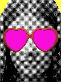 How to become a happier person   ~ I mostly just repinned this for the heart shaped sunglasses.