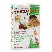 Frezyderm Frezylac Bio Cereal Βρώμη Γάλα Μήλο Βανίλια 200gr. Μάθετε περισσότερα ΕΔΩ: https://www.pharm24.gr/index.php?main_page=product_info&products_id=2798