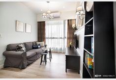優雅與復古_美式風設計個案—100裝潢網 Room Divider, Decor, Furniture, Curtains, Home, Home Decor, Room