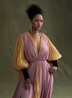 A New World — Vogue US November 2019 — www.com Photography: Ethan James Green Model: Rihanna Styling: Tonne Goodman Hair: Yusef Wil… Rihanna Vogue, Mode Rihanna, Rihanna Riri, Rihanna Style, Rihanna Music, Beyonce, Rihanna Fenty Beauty, Rihanna Fashion, Icon Fashion