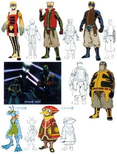 View an image titled 'Al Bhed Characters Art' in our Final Fantasy X art gallery featuring official character designs, concept art, and promo pictures. Character Model Sheet, Character Modeling, Character Concept, Character Art, Character Design, Fantasy Love, Final Fantasy X, Fantasy Series, Tetsuya Nomura