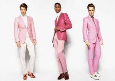 ピンクのおじさんとTOM FORDのスーツ | Fashionsnap.com | Fashionsnap.com
