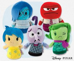 Inside Out Hallmark Itty Bittys-07242015-  I'm definitely getting these!! I've already got 80% of all the Star Wars Itty Bittys, and my sons birthday is still months away!! Haha, love planning ahead! (Well, when I can...) And there's so many more!!!