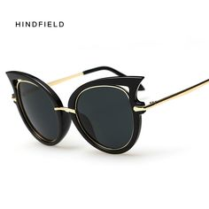 850c04bed New Fashion Unique Cat Eye Sunglasses Women Brand New Designer Coating  Mirror Sun Glasses Retro Shades Oculos De Sol Feminino-in Sunglasses from  Women's ...