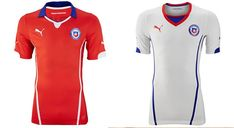 Camisa Copa Mundial 2014 de Chile