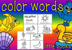 *****PLEASE NOTE THIS IS NOT THE FULL PRODUCTIF YOU WANT THE FULL PRODUCT YOU NEED TO RATE******Get your kids excited about color words with these cute color word booklets.If you don't wish to miss any of these feedback challenges consider purchasing the bundles below.All of my literacy and maths challenges will be included in the bundles below.