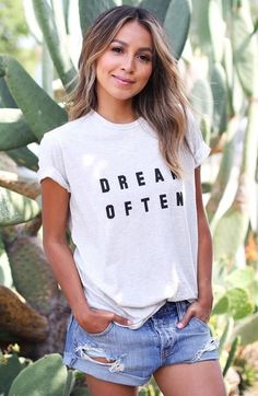 SINCERELY JULES 'Dream Often' Graphic Tee - ShopStyle