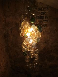 Chandelier at Candelaria, a TACO BAR in PARIS!