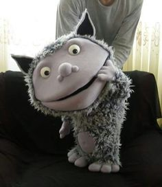 What a great troll puppet!