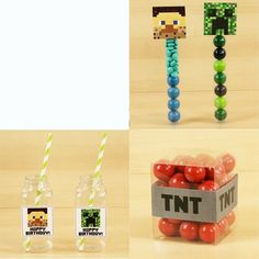 Printables - Minecraft for $0.00 in Minecraft Party Supplies - Party Themes