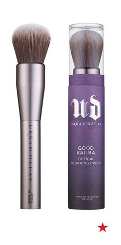 So you've filled your makeup bag with natural goodies. But what about your tools? Urban Decay solves that problem with cruelty-free and vegan brushes. The hair is actual a super soft material made from recycled water bottles and handles are crafted from recycled aluminum.