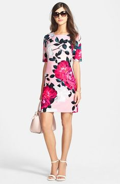 CeCe by Cynthia Steffe Shift Dress & Accessories available at #Nordstrom