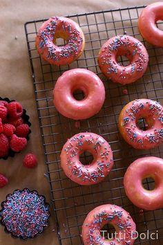 Raspberry Lemon Doughnuts | Tutti Dolci @Laura | Tutti Dolci