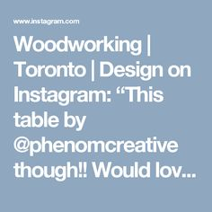 """Woodworking 