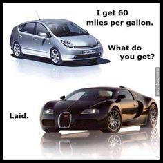 Toyota Prius vs Bugatti Veyron. http://mbinge.co/1AOpHoA