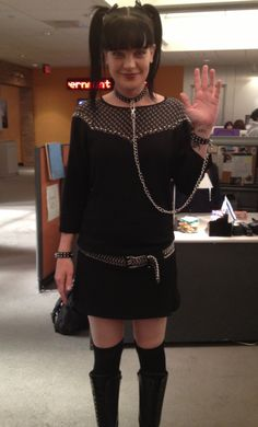 Abby's #NCIS outfit today: