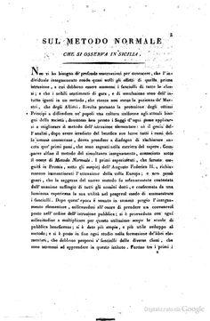Mercurio Ferrara, Sul metodo normale che si osserva in Sicilia e sul metodo Lancastriano ...