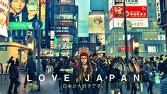 Love Japan by David Parkinson is a 4 minute exploration of Osaka, Kyoto, Hiroshima, Nara, Tokyo, Nagano and Hokkaido