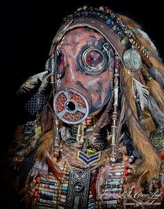 rare post apocalyptic horror native indian art - Google Search