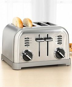 Cuisinart CPT-180 Toaster, 4-Slice Classic Brushed Chrome