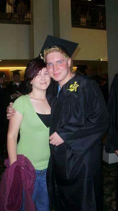 Chris and Amber at Graduation