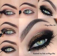 Smokey Eye Pictorial #Fashion #Beauty #Trusper #Tip