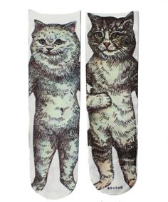 SOCKS! Cat socks, funny socks, knee highs, lacy ones, cozy ones, workers socks. Honestly love em.