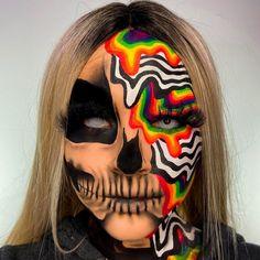 Halloween Makeup Clown, Amazing Halloween Makeup, Clown Makeup, Eye Makeup Art, Scary Makeup, Helloween Make Up, Theatrical Makeup, Creative Makeup Looks, Special Effects Makeup