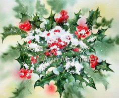 Ann Mortimer's Painting Blog: Merry Christmas to all and a Happy New Year!