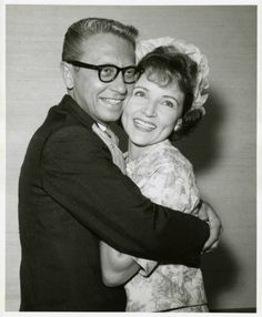 Allen Ludden and actress Betty White on their wedding day at the Sands Hotel in Las Vegas ~June 1963 (Photo: University of Nevada, Las Vegas, University Libraries)