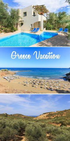 Greece Vacation Villa #travel #vacation #Greece