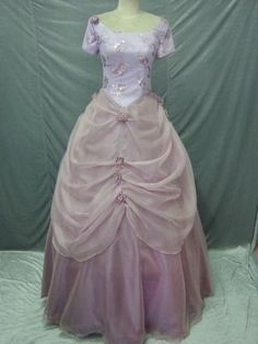 Lilac Ballgown Prom Gown Evening Dress