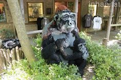 bronx zoo, great summer zoofari, nyc, lego statues, lego, legos, lego animals, lego installation, lego art, lego safari, lego giraffe, lego ...