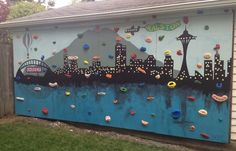 backyard diy climbing wall screw on holds atomik tutorial