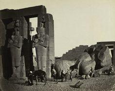 Fallen Statue at the Ramesseum, Thebes | Cleveland Museum of Art