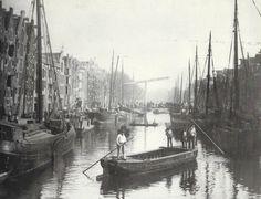Amsterdam De Brouwersgracht omstreeks 1896 - Foto SERC