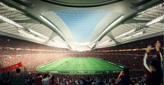 This illustration released from Japan Sport Council on May 2014 shows an artist's impression of the National Stadium for the 2020 Olympic Games in Tokyo, designed by Iraqi-British architect Zaha Hadid 2020 Olympics, Tokyo Olympics, Olympic Logo, Leonel Messi, National Stadium, Tokyo 2020, Zaha Hadid, Olympic Games, New Image
