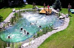 HOW TO BUILD YOUR OWN NATURAL SWIMMING POOL – COMPLETE GUIDE! (VIDEO)