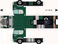 Free Download Paper Model Trucks   Trailer-VanAchteren