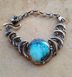 Julianne Van Buskirk Sterling silver and turquoise