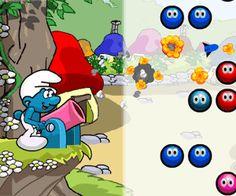 Smurfs Balls Adventure | Friv200jogos.org
