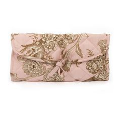 The perfect place to nestle your new Valentine's Day Jewels! Birdsong Jewelry Roll: Pink – Quilted Koala
