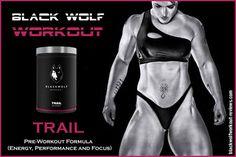 BlackWolf Workout Huntress Pack (TRAIL) Pre Workout Supplement 💪💪 http://bit.ly/2obhYDM : #Blackwolfworkout #PreWorkoutSupplement #Trail