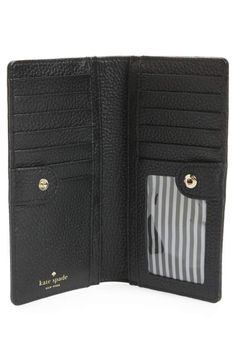 27b2c6bc31 kate spade new york jackson street stacy leather wallet
