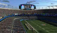 Soon to be, remodel Bank Of America Stadium in Charlotte NC