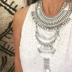 """""""Layering our favourite new Turkish necklaces! Both available online now. #newarrivals  www.gypsyriver.com.au"""""""
