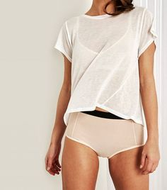 Negative Underwear Mynx Crop Tee